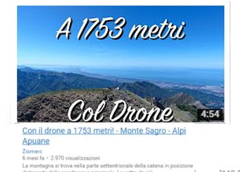 Con il drone a 1753 metri! - Monte Sagro - Alpi Apuane