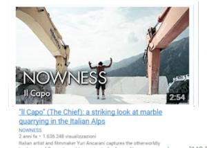 """ll Capo"" (The Chief): a striking look at marble quarrying in the Italian Alps"